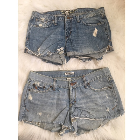 Abercrombie & Fitch Pants - ☀️BOGO☀️ BUNDLE Abercrombie and Fitch Jean shorts